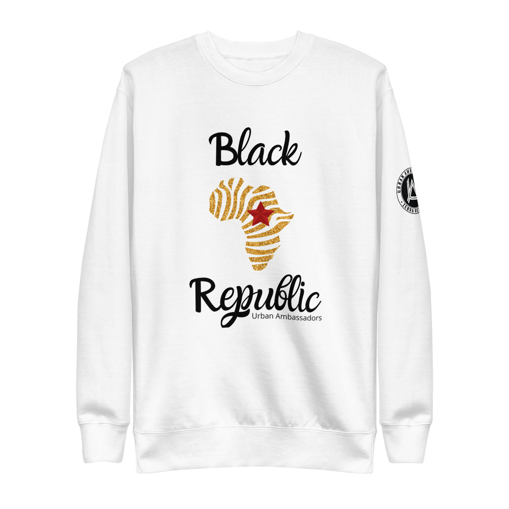 BLACK REPUBLIC UNISEX SWEATSHIRT