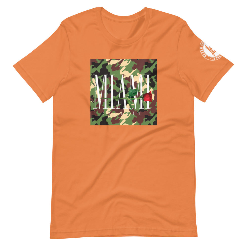 Miami Thorns And Roses Camo Tee