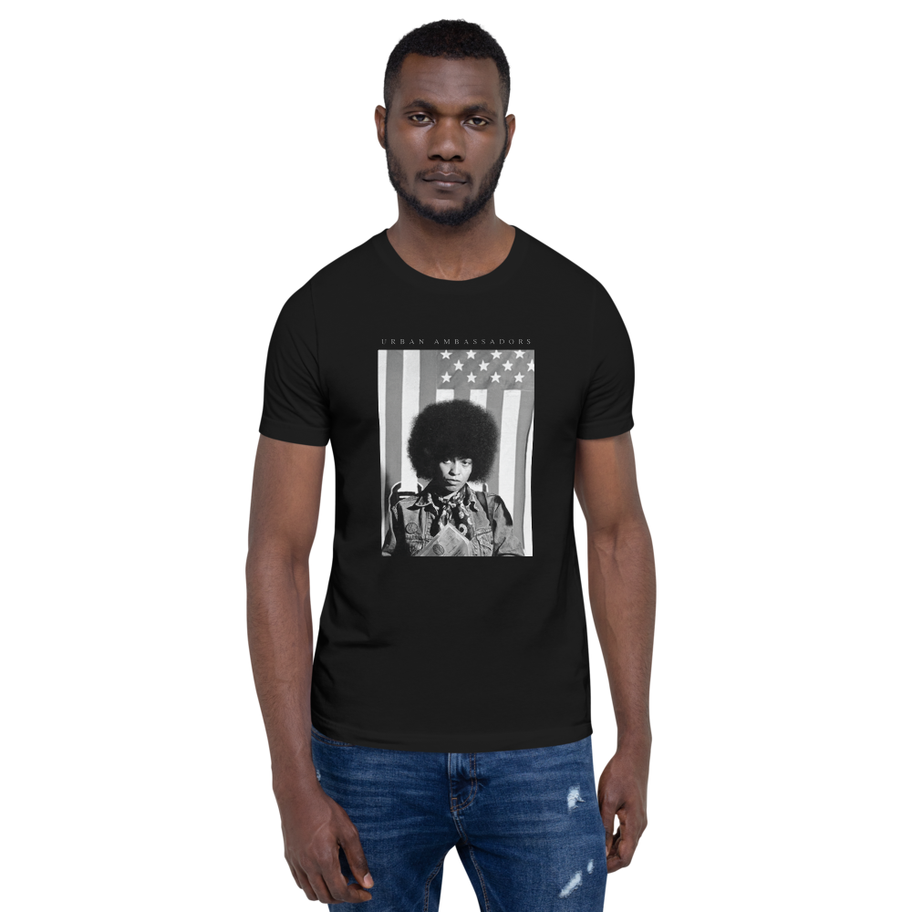 ANGELA DAVIS FREEDOM FIGHTERS T-SHIRT