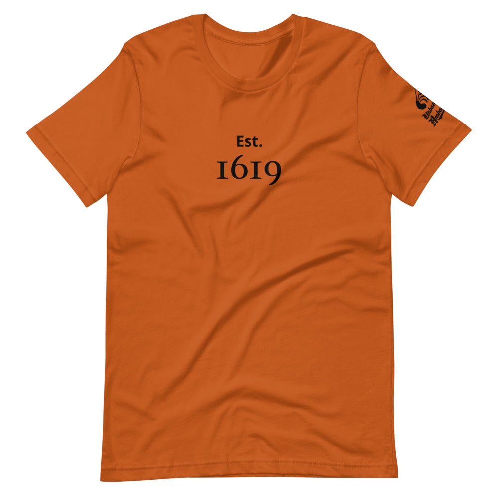 Est. 1619 Short-Sleeve Unisex T-Shirt