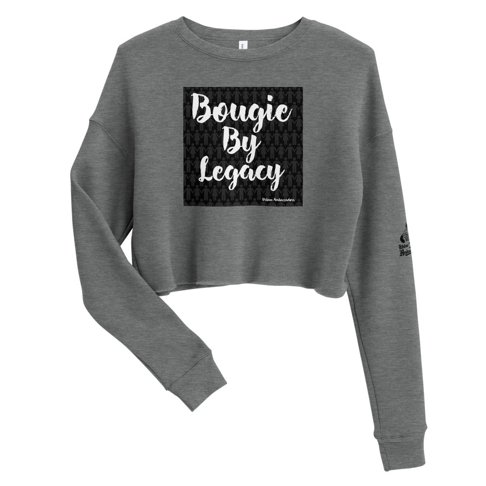 Bougie By Legacy Crop Sweatshirt