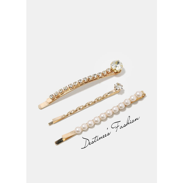 3 Piece Hair Pin Set