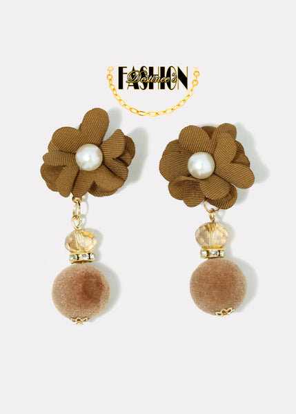 """Rosey"" Earrings"