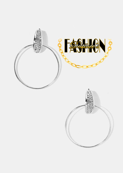 """Alexis"" Hoop Earrings"