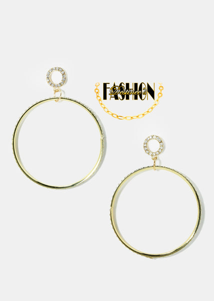 Hoop Dangle Earrings