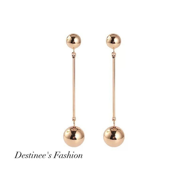 Ball Dangling Earrings