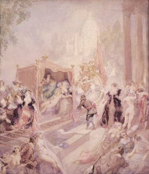 Norman Lindsay - Limited Edition Paintings
