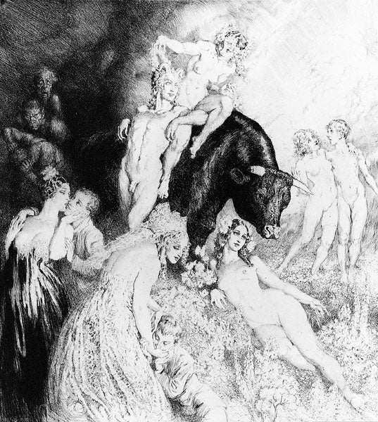 Norman Lindsay - Facsimile Etchings