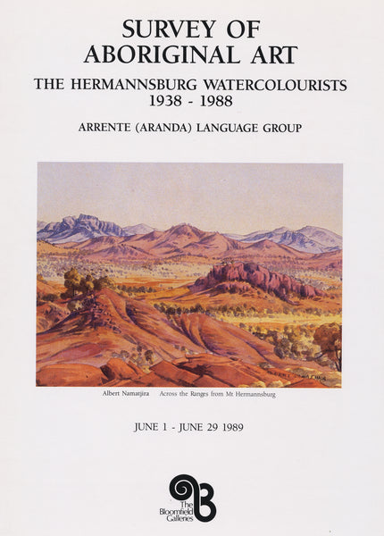Survey of Aboriginal Art: The Hermannsburg Watercolourists 1938-1988