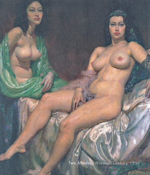 Norman Lindsay - Z Two Models