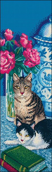 Animals (cats) - Margaret Slape-Phillips - Blooming Perfect