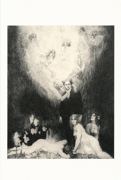 Norman Lindsay - Etching - C Sharp Minor Quartet