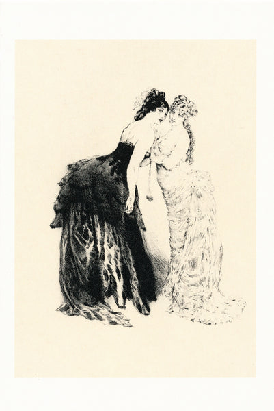 Norman Lindsay - Etching - Eighties
