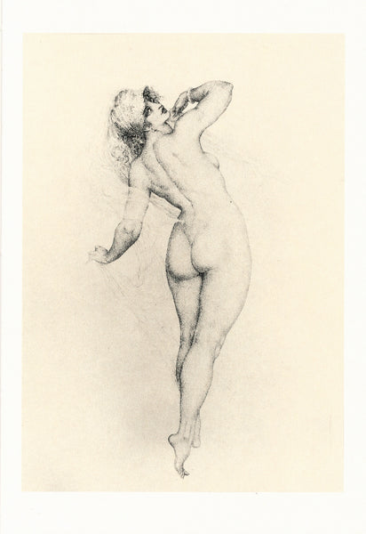 Norman Lindsay - Etching - Who Follows?