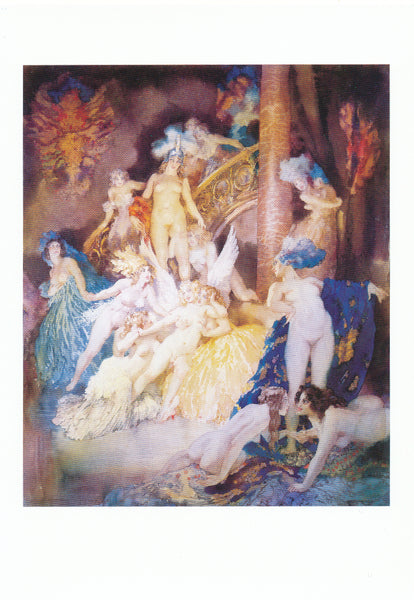Norman Lindsay - Watercolour - Eros
