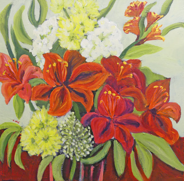 Colleen Michelle Connors 2 - Flamboyant Fire Lillies