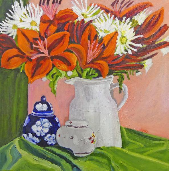 Colleen Michelle Connors 2 - Ginger Jar and Lillies