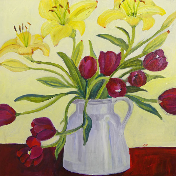 Colleen Michelle Connors 2 - Tulips and Lillies