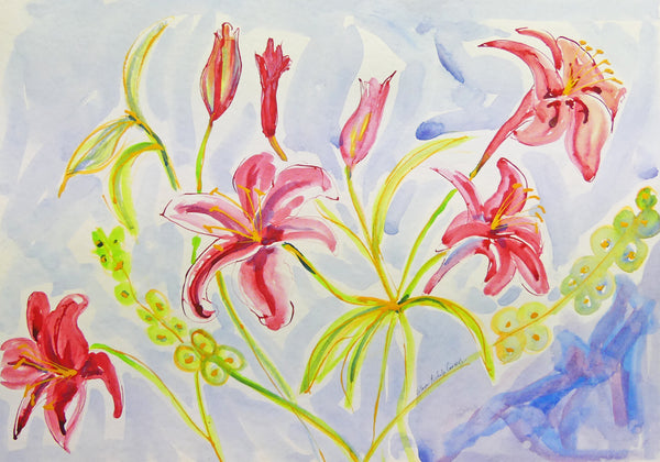 Colleen Michelle Connors - Stargazer Lillies I