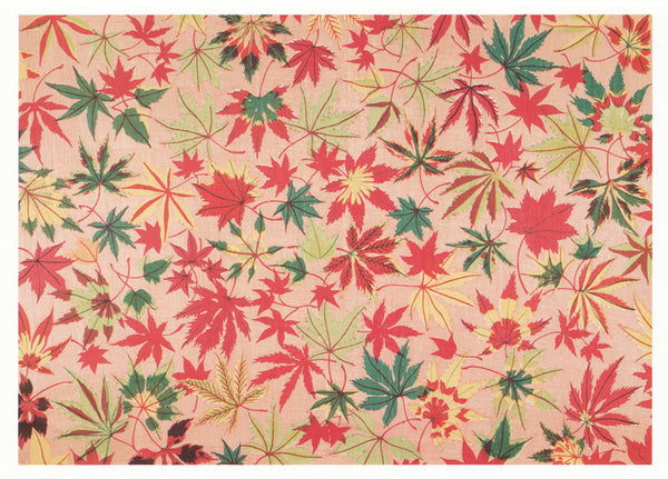 Unknown Artist - Japanese Maple Leaves