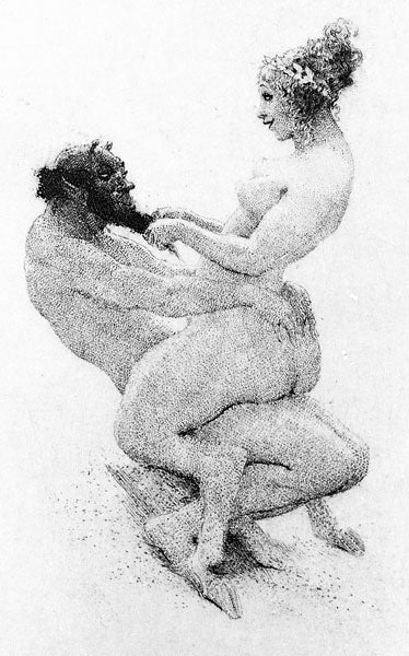 Norman Lindsay - Afternoon of a Faun