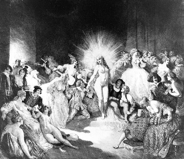 Norman Lindsay - Life in the Temple