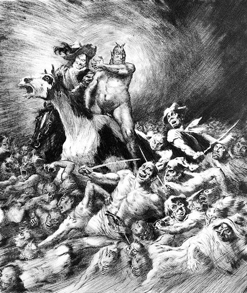 Norman Lindsay - Powers of Earth