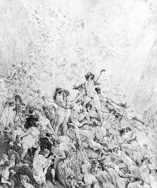 Norman Lindsay - Where Life Ascends
