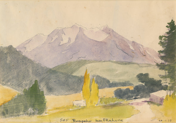 Peter Bousfield - New Zealand - Ruapehu near Okahune