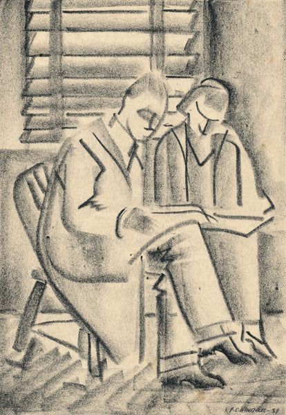 Frank Hinder - Charcoal - Reading