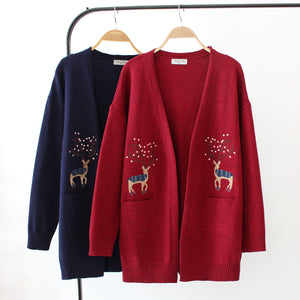 Fashion Fawn Long Sleeve Coat