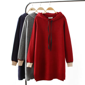 Women's Casual Patchwork Irregular Hoodies
