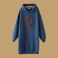 Women Embroidered Hooded Pullover Hoodies