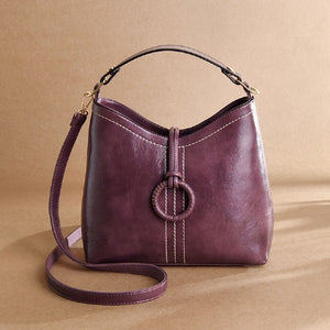 Women's Retro Simple Fashion Bucket Bag