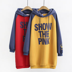 Women's Casual Letter Printed Loose Hoodies