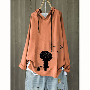 Daily Women Long Sleeve Autumn Hoodies
