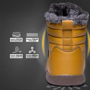 New Cotton Warm Comfortable Antiskid Shoes Couple Snow Boots