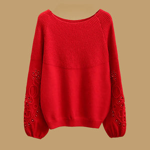 Loose Core Yarn Elegant Blouses