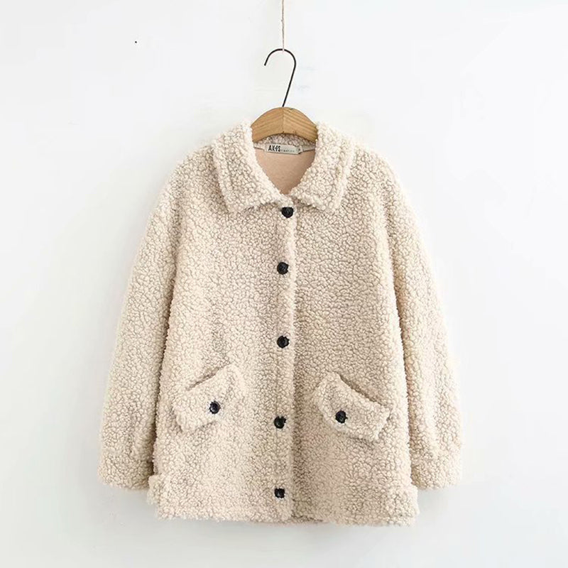 Casual Long Sleeve Warm Coats