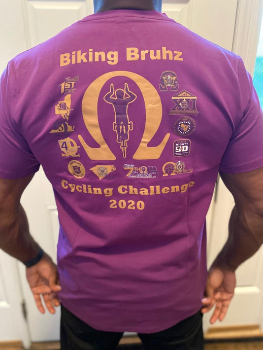 Biking Bruhz Challenge T-Shirt - SALE! (3X and 4X)