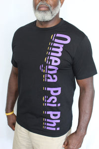 "Tee Shirt - Gradient Omega Psi Phi Logo - ""NEW ITEM"""