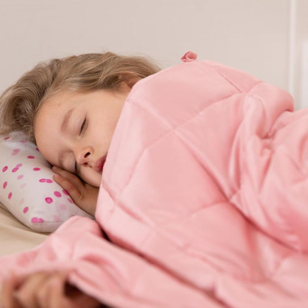 5 Ways a Weighted Blanket Can Help Your Child Sleep Better