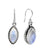 Rainbow Moonstone Solid 925 Sterling Silver Dangle Earrings Jewelry - YoTreasure