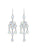 Rainbow Moonstone Solid 925 Sterling Silver Chandelier Earrings Jewelry - YoTreasure