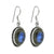 Labradorite Solid 925 Sterling Silver Dangle Earrings Jewelry - YoTreasure