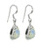 Rainbow Moonstone Solid 925 Sterling Silver Dangle Earrings - YoTreasure