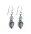 Labradorite Blue Topaz Gemstone Earrings - YoTreasure
