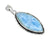 Larimar Solid 925 Sterling Silver Gemstone Pendant Necklace - YoTreasure