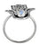 Rainbow Moonstone Ring Solid 925 Sterling Silver Gemstone Jewelry - YoTreasure