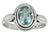 Natural Blue Topaz Solid 925 Sterling Silver Ring Jewelry - YoTreasure